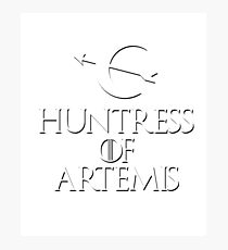 Huntress of Artemis game Photographic Print