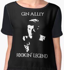 Gin Alley Fookin Legend Chiffon Top
