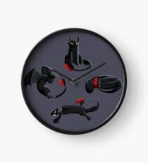 Toothless the Dragon Clock