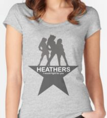 Heathers-Hamilton Women's Fitted Scoop T-Shirt