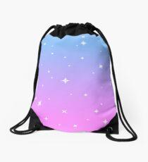 Magical Girl Sparkle Drawstring Bag