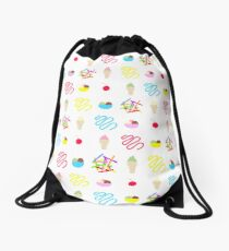 I Scream for Ice Cream Drawstring Bag