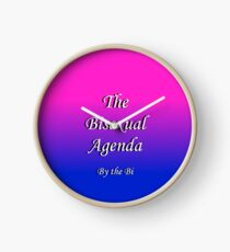 The Bisexual Agenda Clock