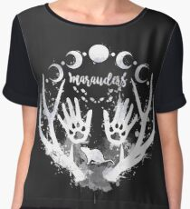 Marauders. Women's Chiffon Top
