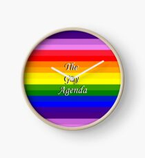 The Gay Agenda Clock