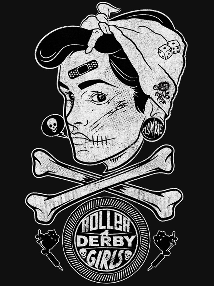 Zombie Roller Derby Girls | Unisex T-Shirt