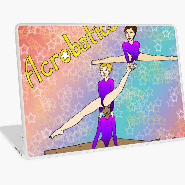 Acrobatics 3 (Acrobatic superstar) Laptop Skin