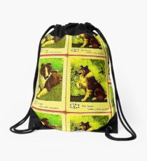 Lassie Moviestar Dog Drawstring Bag