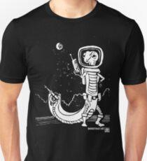Dr. Johan Von Skinkely Investigates Sector 12 (White Version) T-Shirt