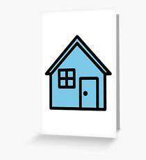 Troye Sivan Blue Neighbourhood House Greeting Card