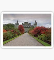 Inveraray Castle in Autumn Sticker