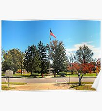 """""""Old Glory, Still Standing Tall""""... prints and products Poster"""