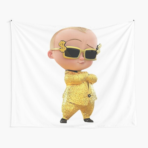 Gold Baby Tapestry