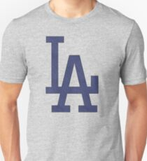 °BASEBALL° L.A. Dodgers Denim Logo Unisex T-Shirt