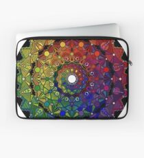 Mandala 46 T-Shirts, Hoodies and Stickers and cases - Jim Gogarty Laptop Sleeve
