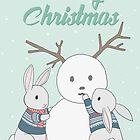 Snowbunny by deerinspotlight
