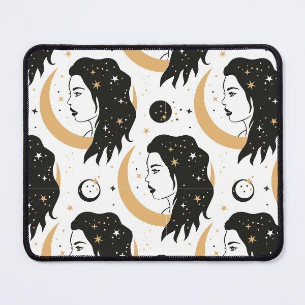 Moon Child Celestial Goddess Mouse Pad