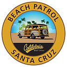 Santa Cruz California Beach Patrol by Frank Schuster
