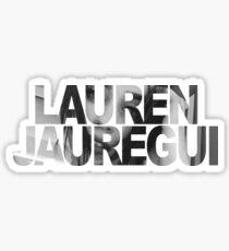 Lauren Jauregui Letters + Face Sticker