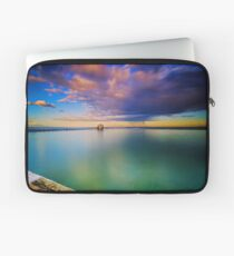 Incoming Storm- Merewether Ocean Baths #2 Laptop Sleeve