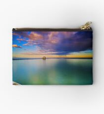 Incoming Storm- Merewether Ocean Baths #2 Studio Pouch