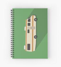 RV Pop illustration Spiral Notebook