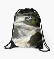 Jumble Hole Waterfalls Drawstring Bag