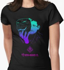 Snowden - Guy Fawkes Womens Fitted T-Shirt