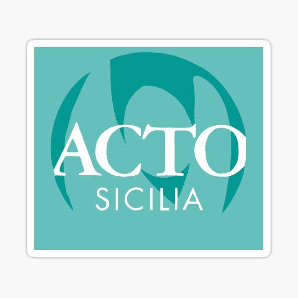 Acto Sicilia  Sticker