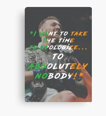 Absolutely Nobody ......  Canvas Print