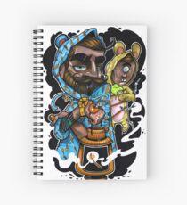 father & son Spiral Notebook