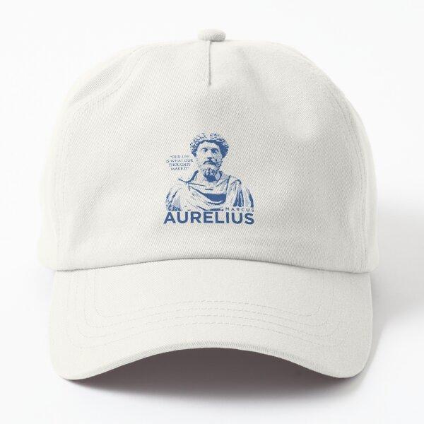 Stoicism Philsophy Quote Marcus Aurelius Raglan Baseball Tee Dad Hat