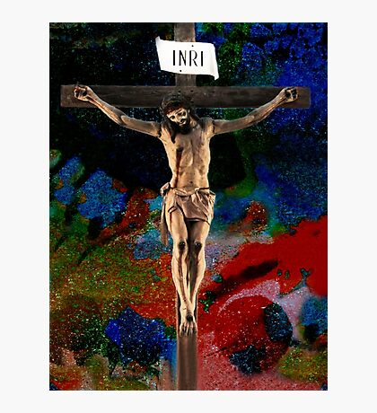 CRUCIFIXION: BARBARIC TORTURE (please read the Artist Notes)) Photographic Print
