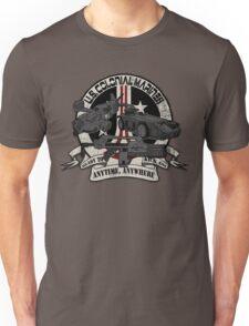 Anytime, Anywhere. Unisex T-Shirt