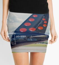 Brussels Airlines Airbus A319 tail livery  Mini Skirt