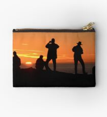 Sunset Silouettes Studio Pouch