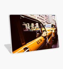 Vintage NYC Taxi Laptop Skin