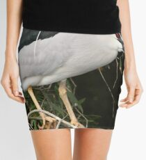 The Black Crowned Night Heron Mini Skirt