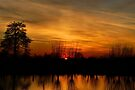 Sunset Fire by AnnieSnel