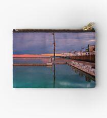 Poles, Sunset, Ocean Baths, Paradise Studio Pouch