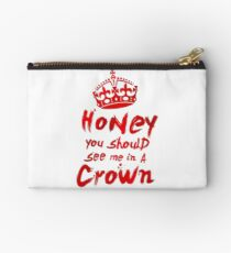 Moriarty Quote Studio Pouch