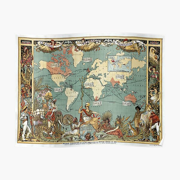 Framed Europe Map With Flags Wall Chart Poster Ready To Hang Frame New