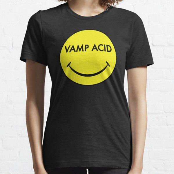 Vamp Acid Techno Electro Smiley Essential T-Shirt