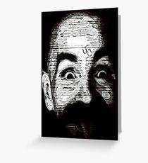 Charles Manson Greeting Card