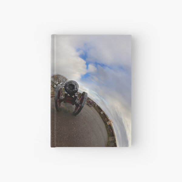 St Columb's Cathedral from Derry's Walls at Church Bastion, Derry Hardcover Journal
