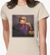 Frank Reynolds with Banana Womens Fitted T-Shirt