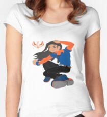 K-NINE_BROS.__Braylen_Fox Women's Fitted Scoop T-Shirt