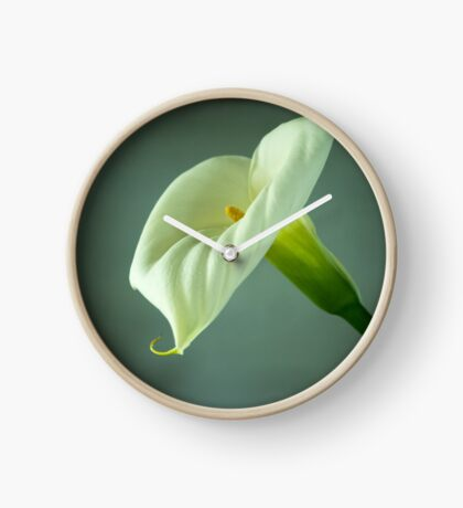 Arum Lily - From the Heart Clock
