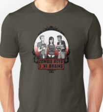 Zombie Boys love Brains Unisex T-Shirt