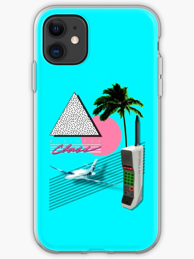 COLLECTION BUSINESS CLASS '84 | Coque iPhone